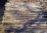 Paus tratados usados em muito bom estado com 1.70m a 2m a mistura com o diametro 7/8