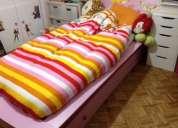 cama criança com gavetão para colechão ou para arrumação