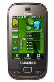 Samsung B5722 Duos Brown