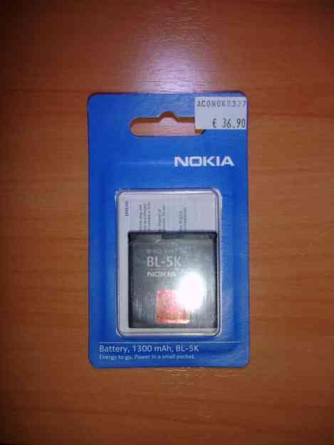 Bateria Original Nokia BL-5K *NOVA* Com Fatura e Garantia