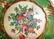 Miniatrura prato pintado à mão