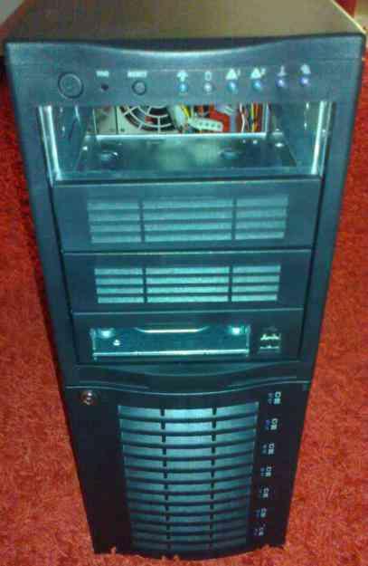 Caixa para servidor ou PC SuperMicro Super Chassis SC742 Caixa nova
