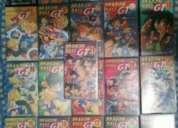Vendo ou troco colecçao de dragon ball gt  serie limitada, cassetes de video.
