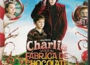 Filme charlie e a fábrica de chocolate