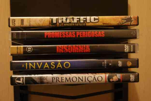 Pack de 5 DVD's de Suspense e  ficção