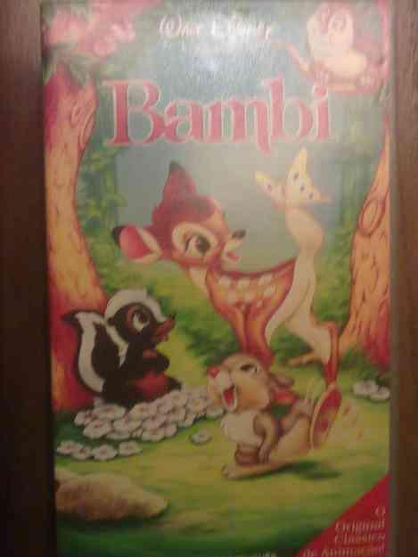 Filme VHS: Bambi
