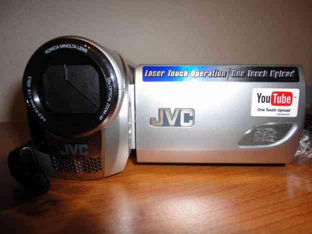 Máquina de filmar JVC nova