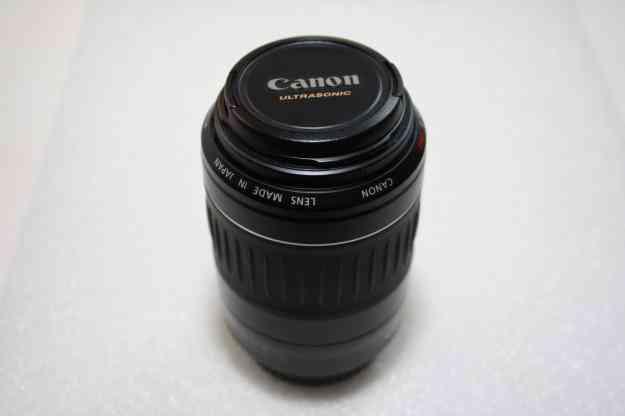 Objectiva Canon Ultrasonic EF-55-200 4.5-5.6 II USM como nova