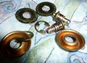 Strap locks jim dunlop - gold