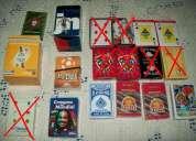 Vendo baralhos de cartas todos completos e alguns selados