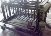 Maquina fabrico de blocos