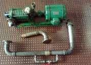 Conjunto de motor trifasico efacec 6 cv, 4.4kw, 2870rpm e bomba frank (porto)
