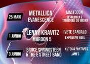 Vendem-se bilhetes rock in rio 2012 desde 40 euros