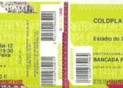 Bilhetes para o concerto dos coldplay no estádio do dragão