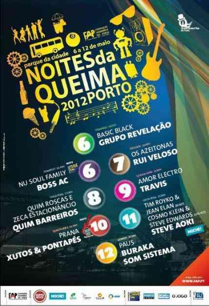 Bilhetes Queima das Fitas Porto 2012