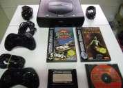 Sega saturn v2, 3 jogos, comandos v2, cabos. impecÁvel. sÓ 40 euros…