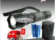 Kit lanterna cree led 1000 lumens+ bolsa portes gratis