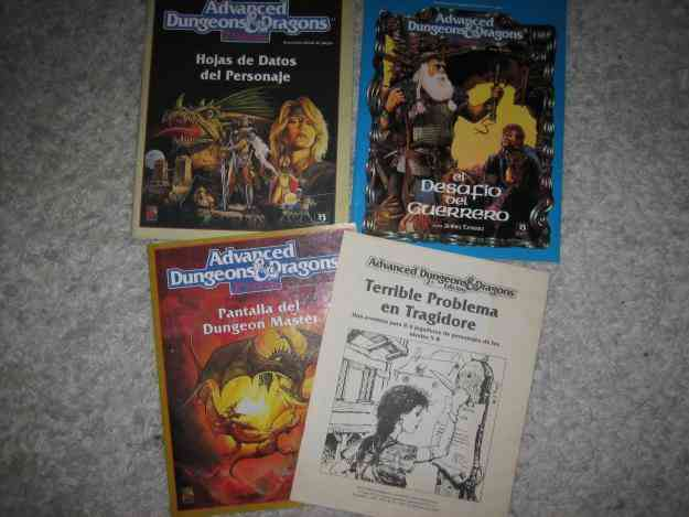 D&D 2ª edição Pack