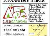 A lusocamping é junto ao centro da cidade da trofa »» confirme onde estÁ