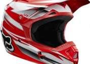 Fox v1 race white / red