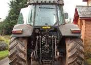 Massey ferguson mf 6290 tractor de 2001, a suspensão dianteira