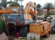 GiratÓria komatsu 150 - 1989 - 11000h - 16 ton.