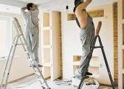 Reparação geral de apartamentos(incl.materiais)desde:t-0  5600?,t-1  6500?,t-2  7800?,.