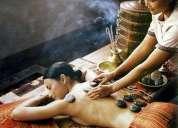 Massagem geotermal (pedras quentes) - shila abhyanga em sânscrito