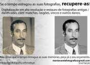 Recuperação e restauro de fotografias antigas