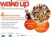 Evento wake up lisboa 3h de motivaÇÃo & inspiraÇÃo
