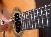 Aulas de iniciação à guitarra clássica
