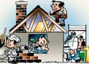 Todo o tipo de obras: reconstrução/remodelações/alterações/ampliações,....................