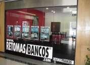 Comerciais imobiliária - retomas de bancos