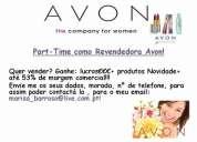 Avon cosméticos lda-- part time (jovens,adultos m/f)