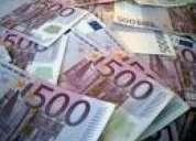 Oferta de empréstimo particular sério e fiável