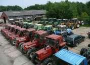 Liquidación de los tractores para la agricultura