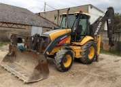 trator tractopelle  volvo bl71 ano 2007