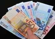 Oferta de emprestimo de dinheiro