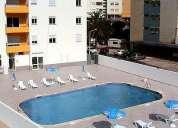especial junho julho t1 centro praia da rocha c/piscina e garagem100m/praia