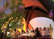 Aluguer tenda insuflável para eventos e catering