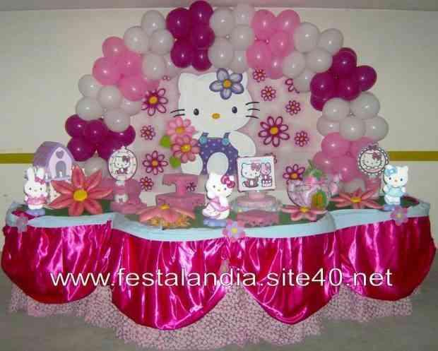 decoracao festa hello kitty – Doitricom