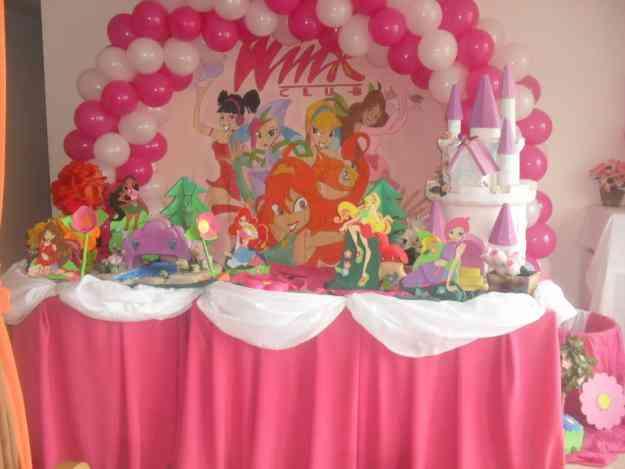 decoracao festa winx:DECORAÇÃO WINX – FESTA – Ribeira Quente – Organização de Eventos