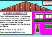 ManutenÇÃo em vossa casa por 8,00 euros a hora cada uma ,e profunda 150,00 ao dia