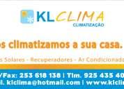 Climatização klclima - venda de produtos e equipamentos de climatização