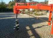 Aluguer de perfuradores  de solo para plantações