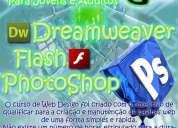 web design - photoshop, flash, dreamweaver