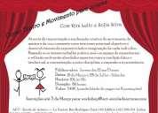 Curso teatro e movimento para jovens dos 12 aos 15 anos - com rita lello e sofia silva