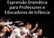 Workshop de jogo e expressão dramática para professores e educadores de infância