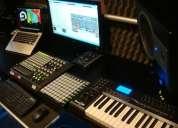 Aulas de musica e produção guitarra piano voz vocalista professor produtor.
