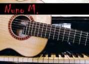 Quer aprender guitarra ou piano (teclado)?